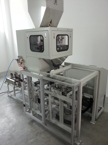 Fully Auto Bag Filling and Sealing Machine