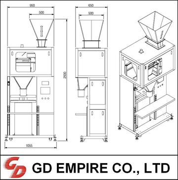 Grain Weighing Packaging Machine